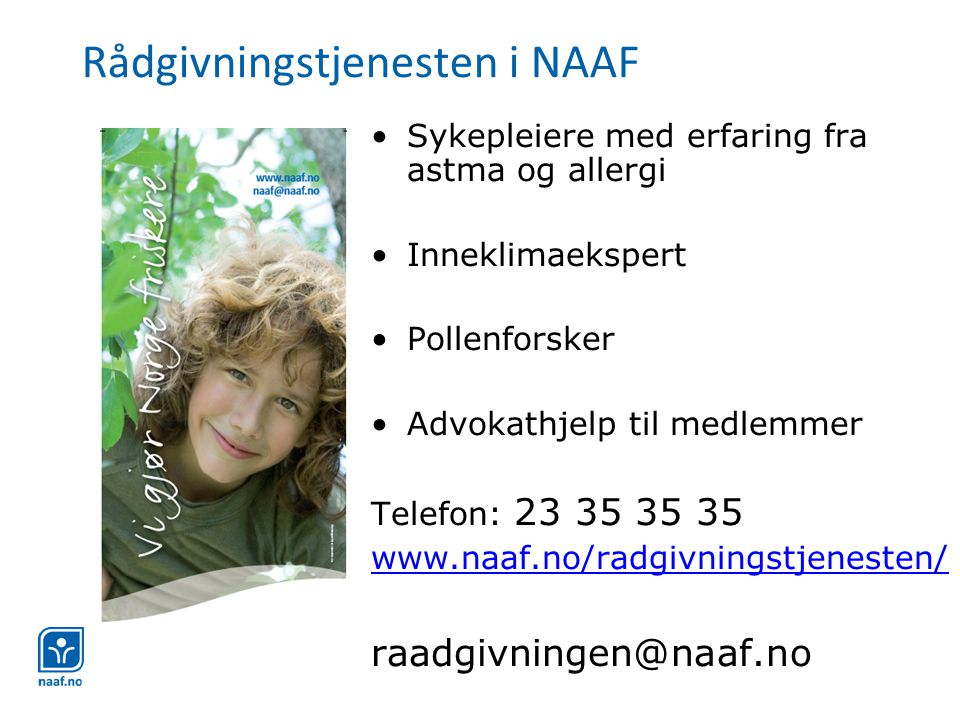 Rådgivningstjenesten i NAAF