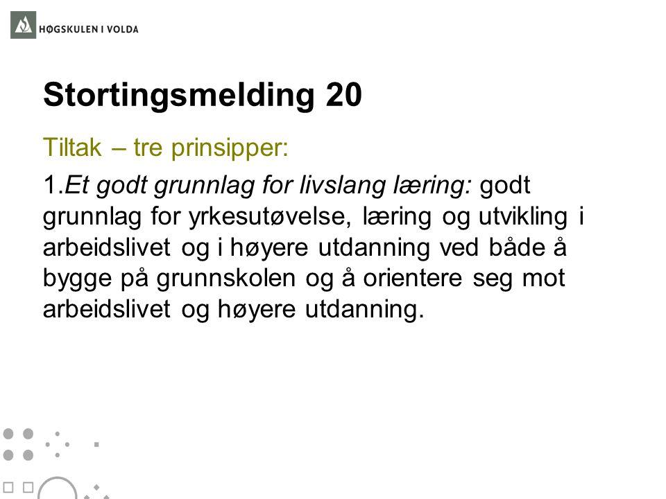 Stortingsmelding 20