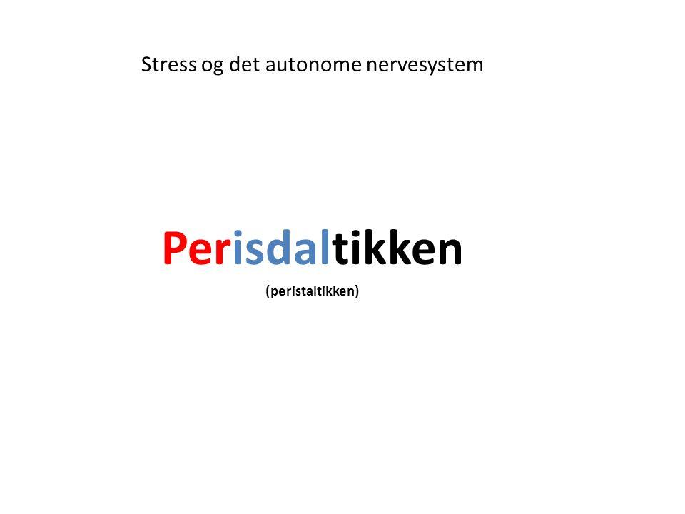 Stress og det autonome nervesystem