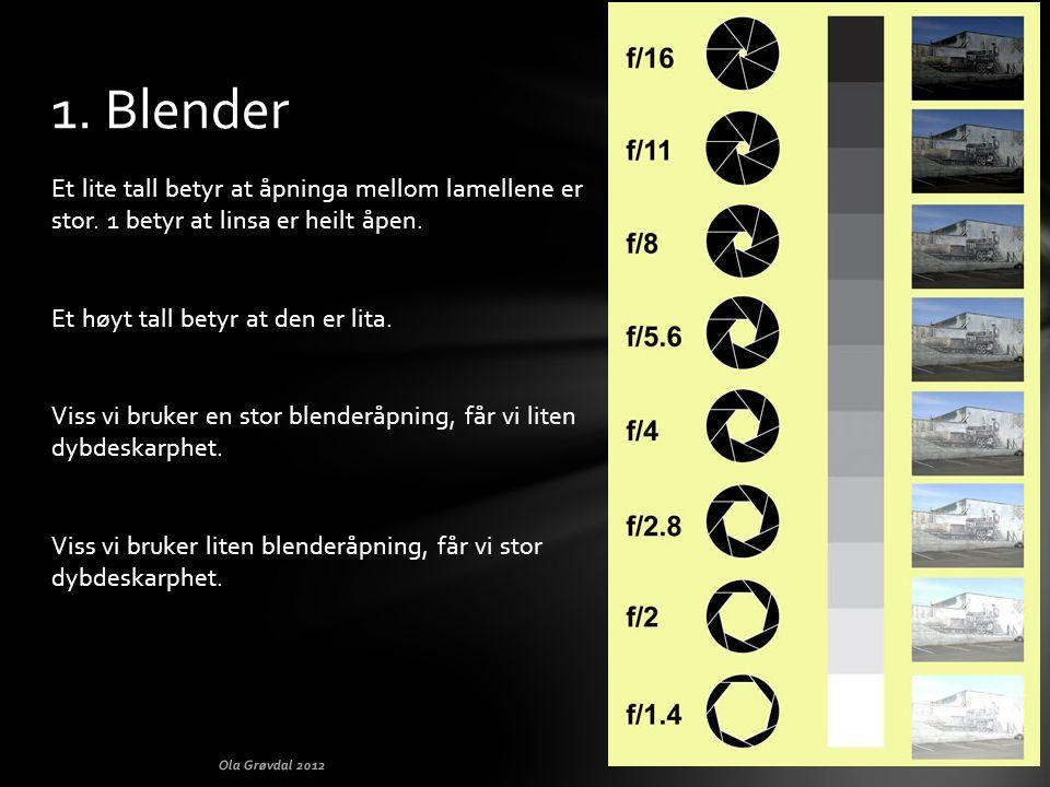 1. Blender