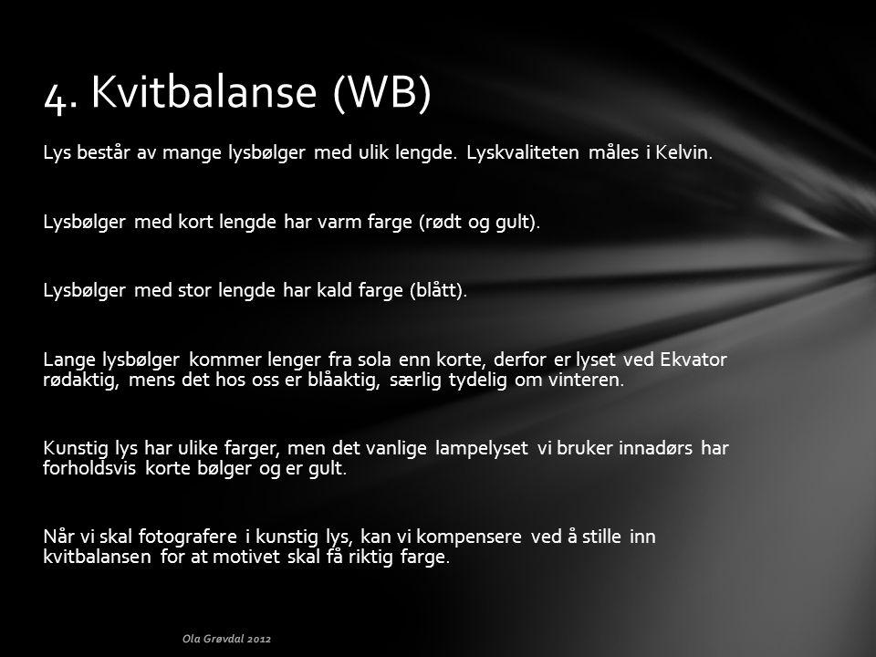 4. Kvitbalanse (WB)