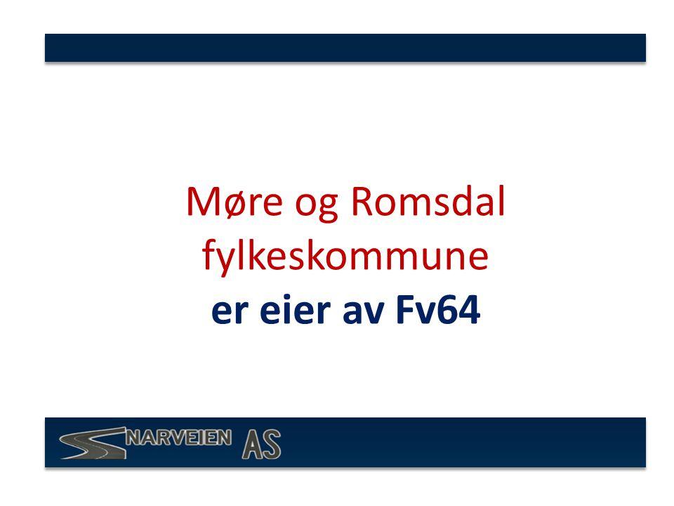 Møre og Romsdal fylkeskommune er eier av Fv64