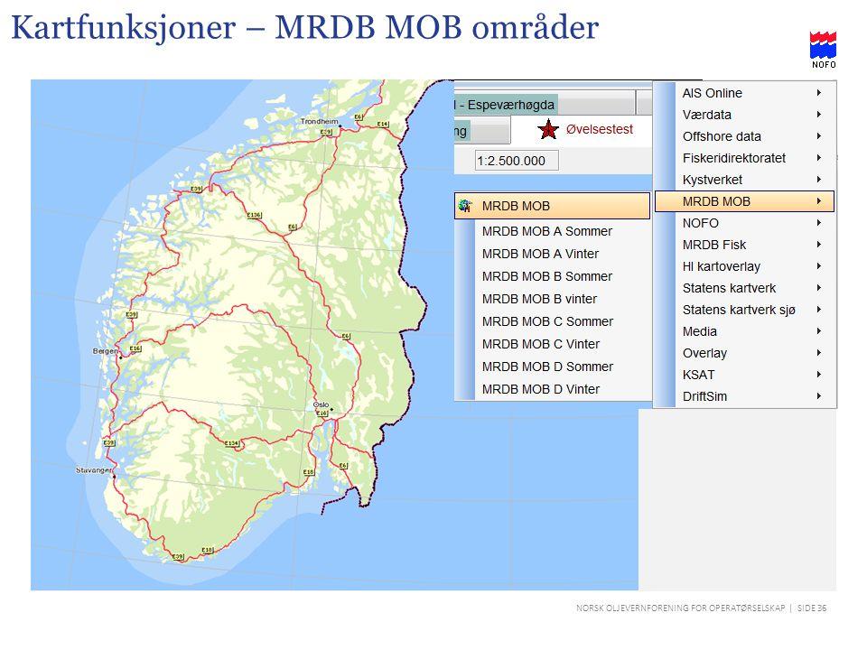 Kartfunksjoner – MRDB MOB områder