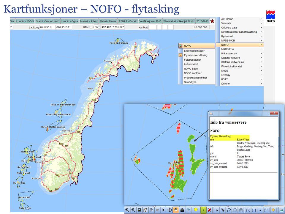 Kartfunksjoner – NOFO - flytasking