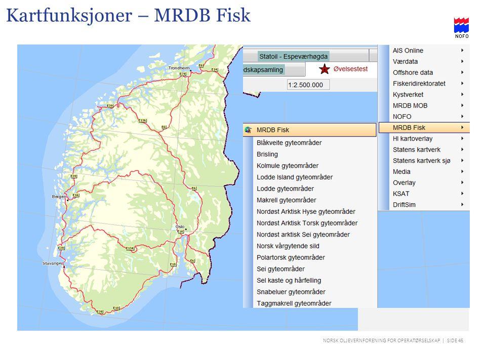 Kartfunksjoner – MRDB Fisk