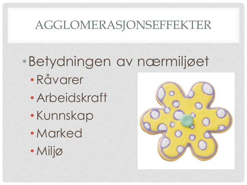 agglomerasjonseffekter