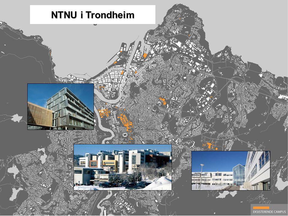 NTNU i Trondheim Dagens NTNU campuser