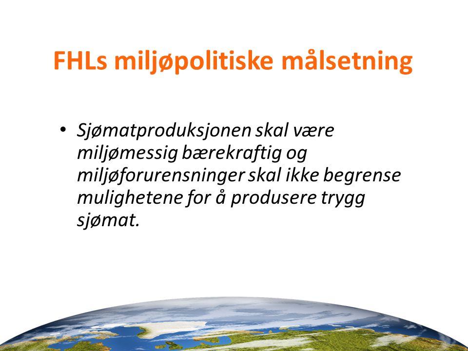 FHLs miljøpolitiske målsetning