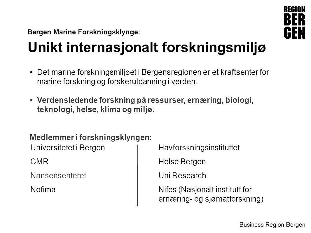 Unikt internasjonalt forskningsmiljø