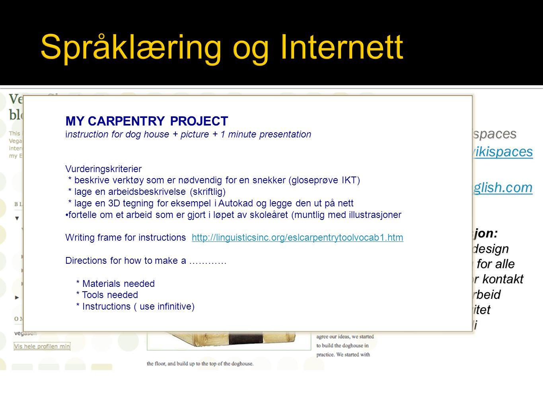 Språklæring og Internett