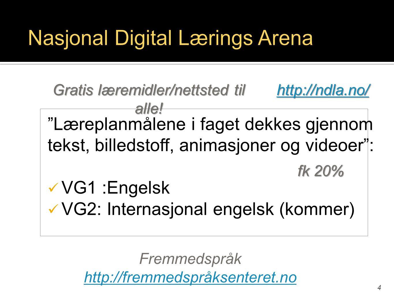 Nasjonal Digital Lærings Arena