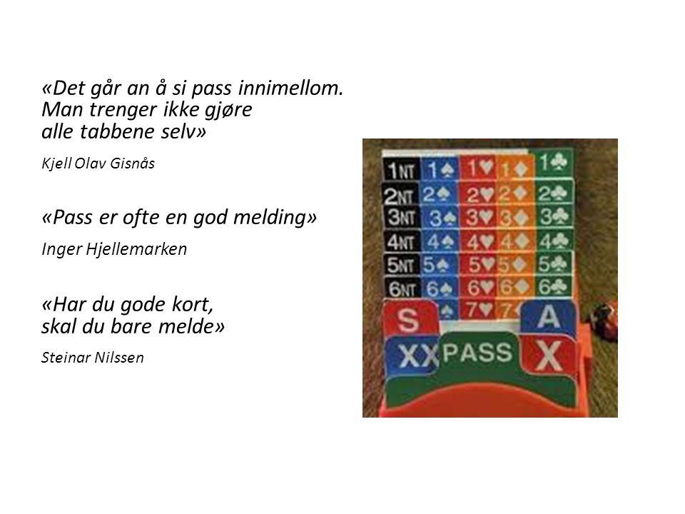 «Pass er ofte en god melding» Inger Hjellemarken