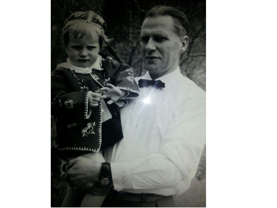 Bilde 3) Pappa har alltid vært det store forbildet i livet mitt
