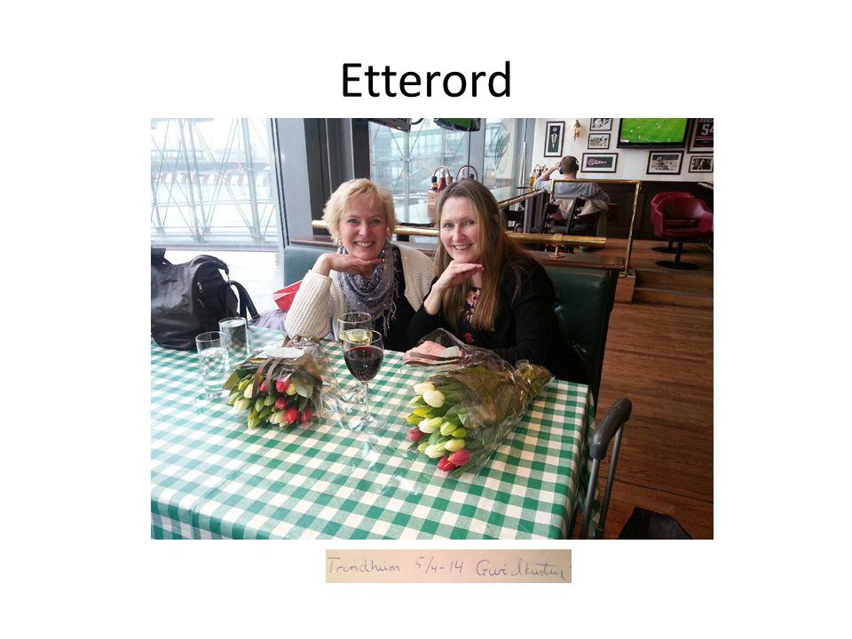 Etterord Trondheim, 5/4-14 Guri & Kristin