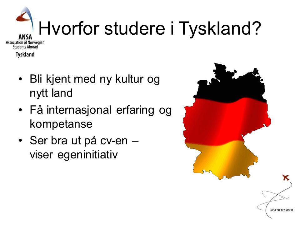 Hvorfor studere i Tyskland