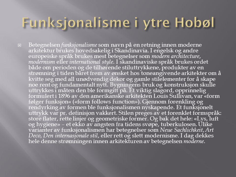 Funksjonalisme i ytre Hobøl