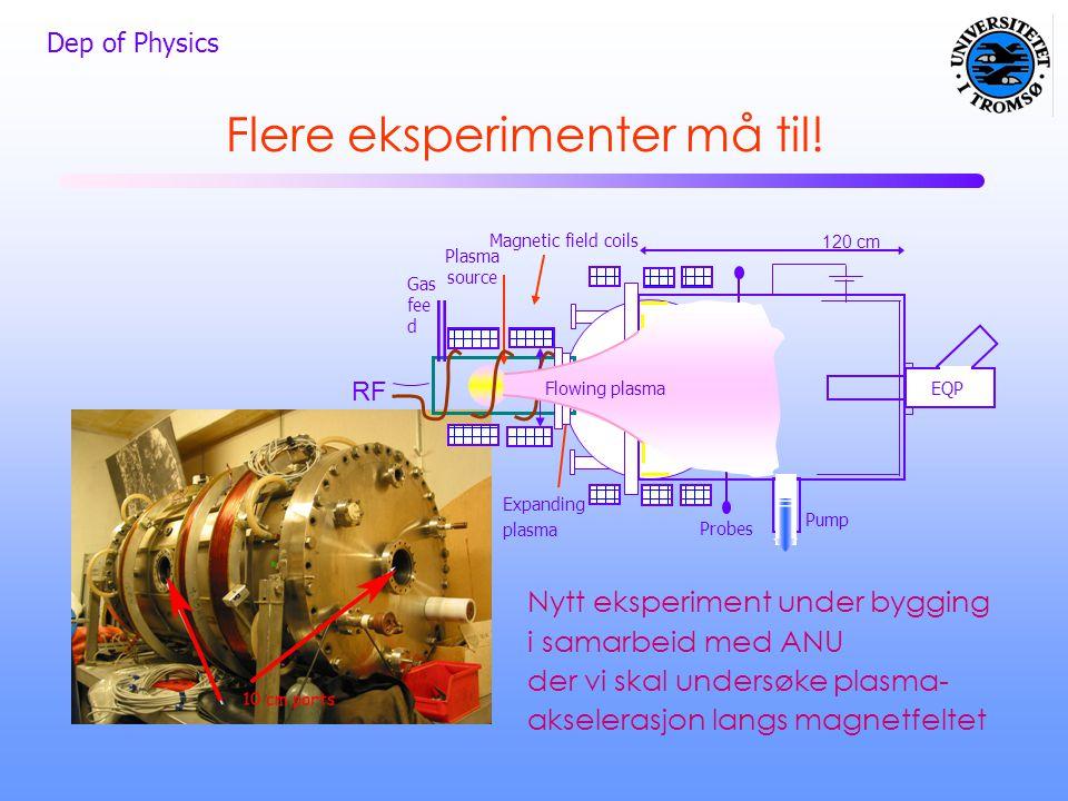 Flere eksperimenter må til!