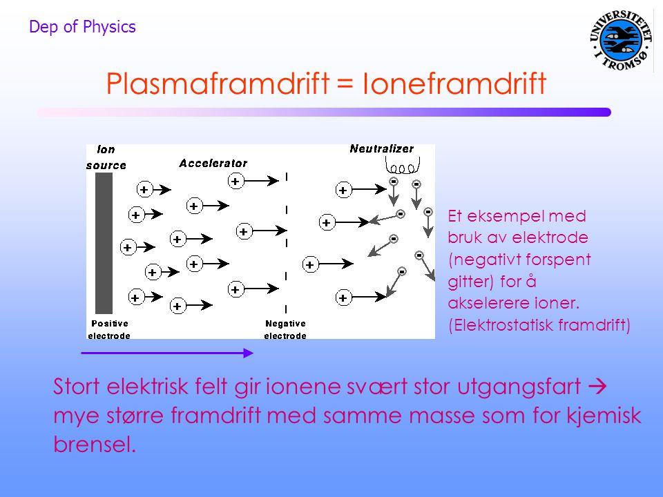 Plasmaframdrift = Ioneframdrift