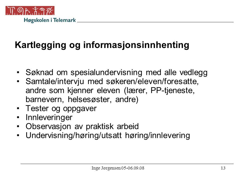 Kartlegging og informasjonsinnhenting