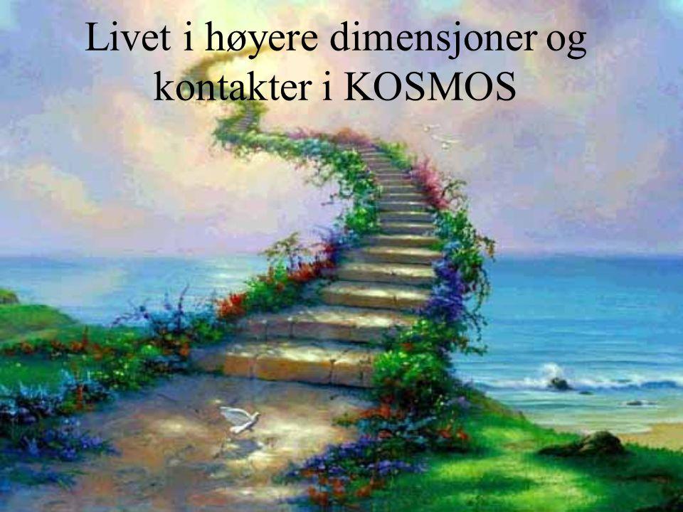 Livet i høyere dimensjoner og kontakter i KOSMOS
