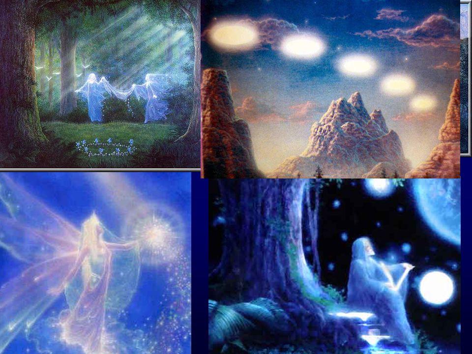 Mange vi møter har en strålende aura som vinger