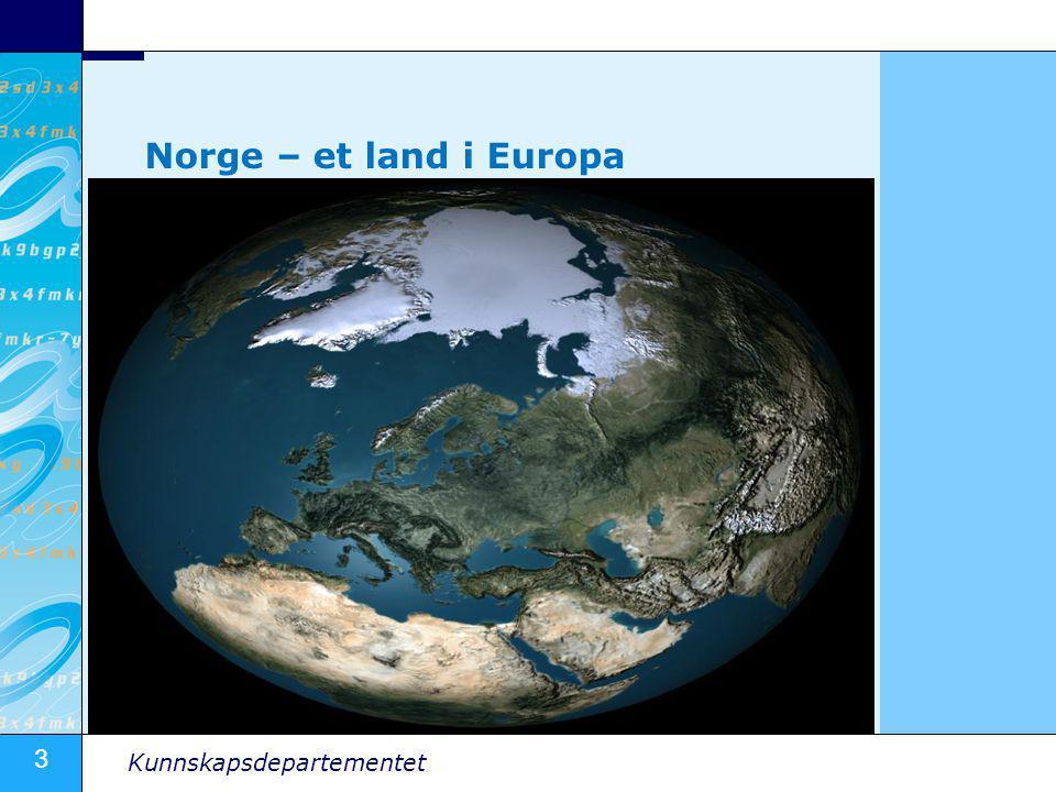 Norge – et land i Europa