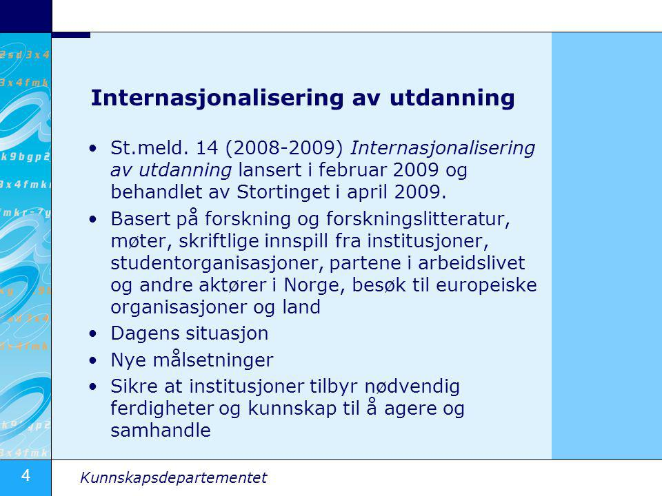 Internasjonalisering av utdanning