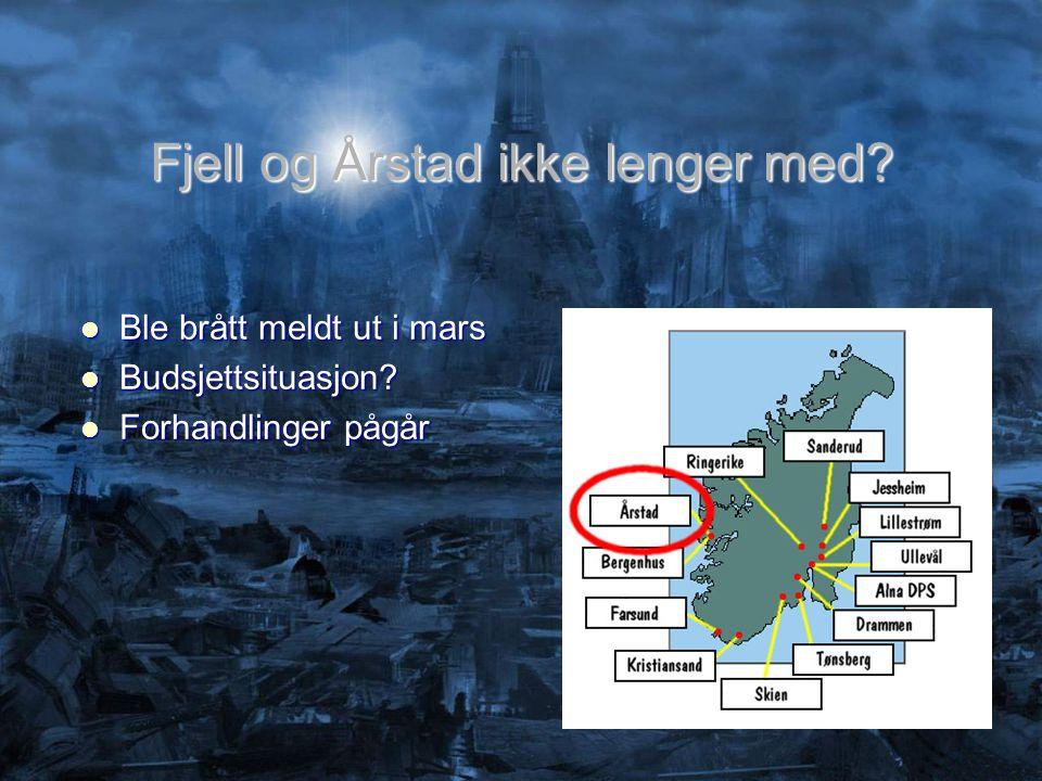Fjell og Årstad ikke lenger med