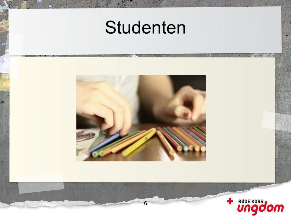 Studenten 6 I Norge: hovdesaklig fra Europa 70% studenter, 21% Au Pair
