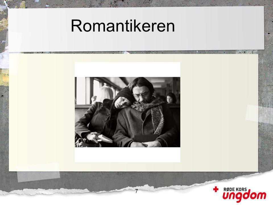 Romantikeren Ikke så mange som en kanskje tror. Bare et eksempel for å illustrere at en migrant kan være så mangt.
