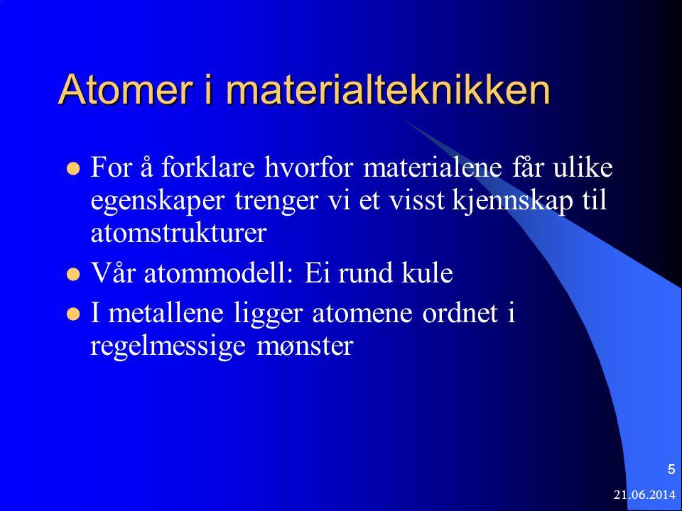 Atomer i materialteknikken