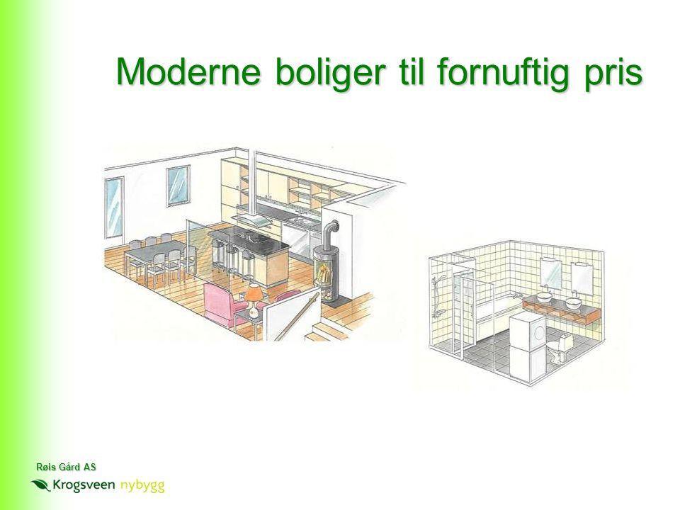 Moderne boliger til fornuftig pris