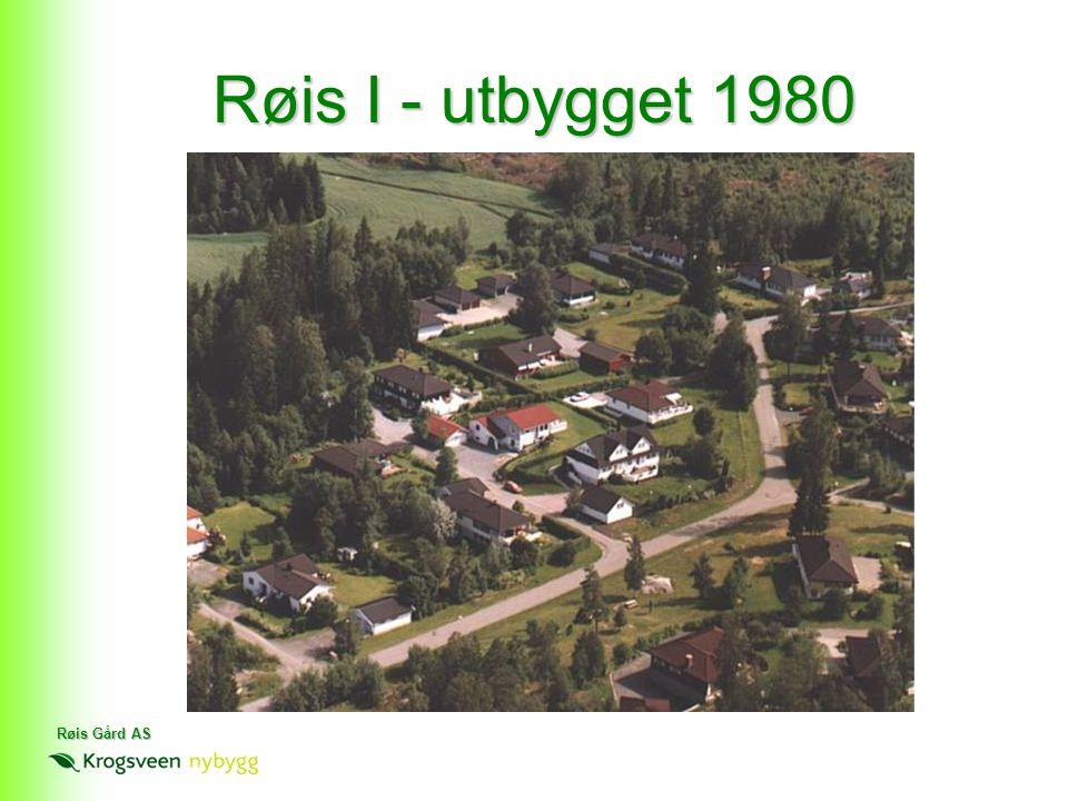 Røis I - utbygget 1980