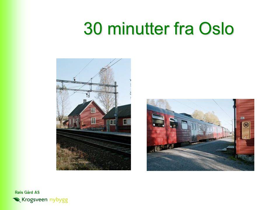 30 minutter fra Oslo