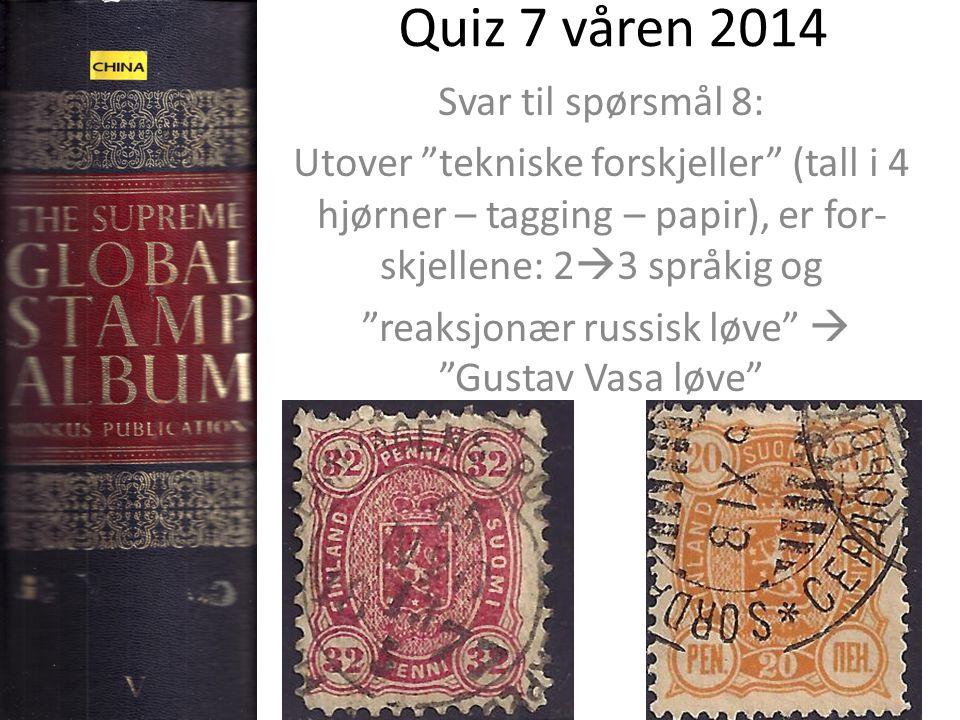 reaksjonær russisk løve  Gustav Vasa løve