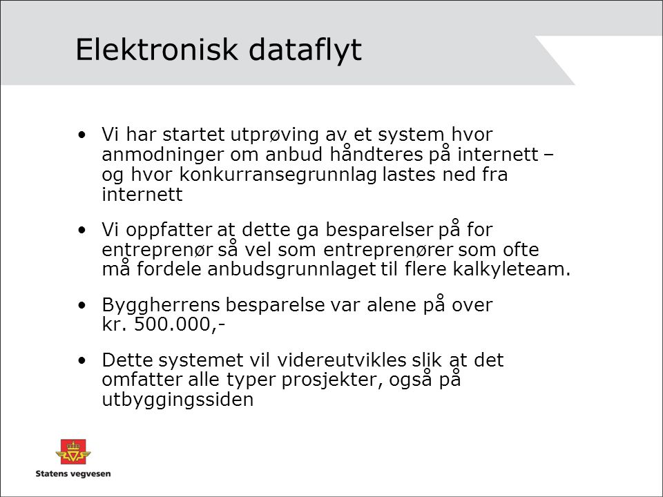 Elektronisk dataflyt