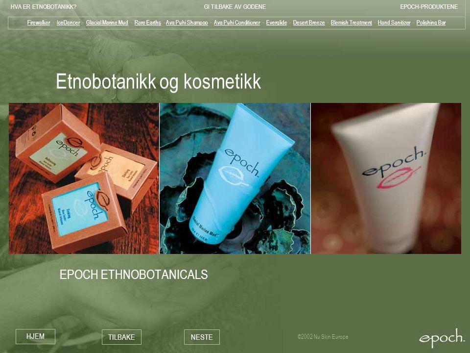 Etnobotanikk og kosmetikk