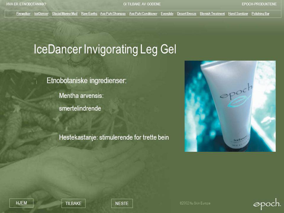 IceDancer Invigorating Leg Gel