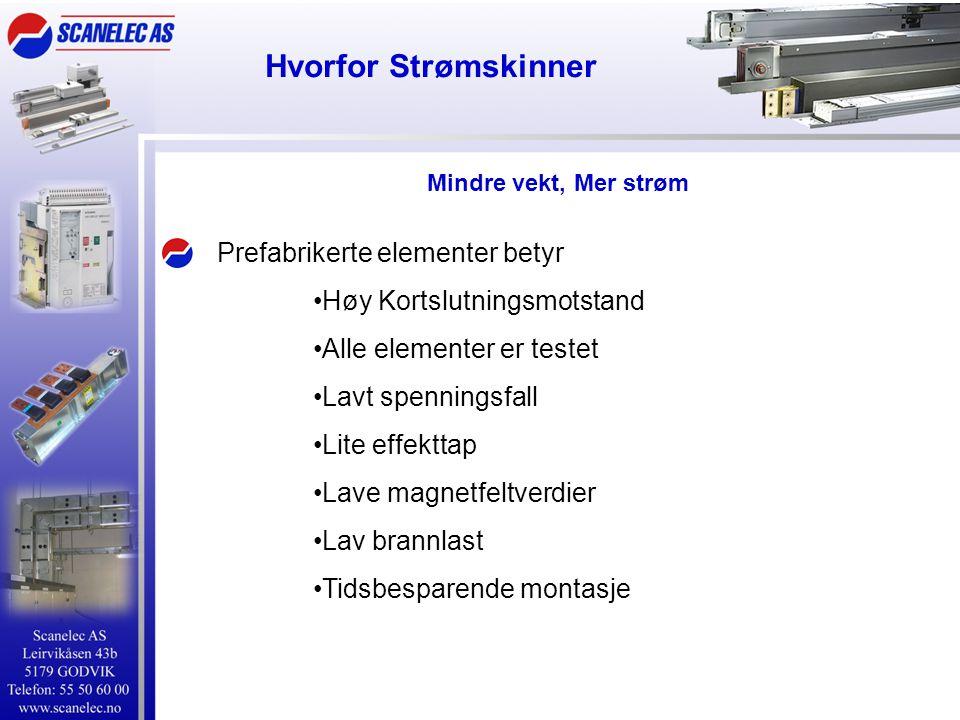 Hvorfor Strømskinner Prefabrikerte elementer betyr