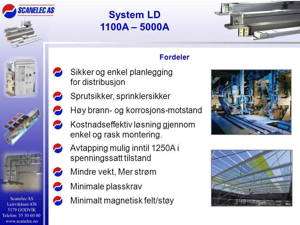 System LD 1100A – 5000A Sikker og enkel planlegging for distribusjon
