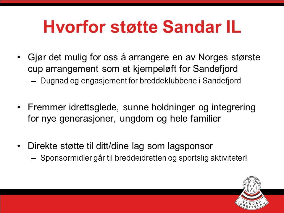 Hvorfor støtte Sandar IL