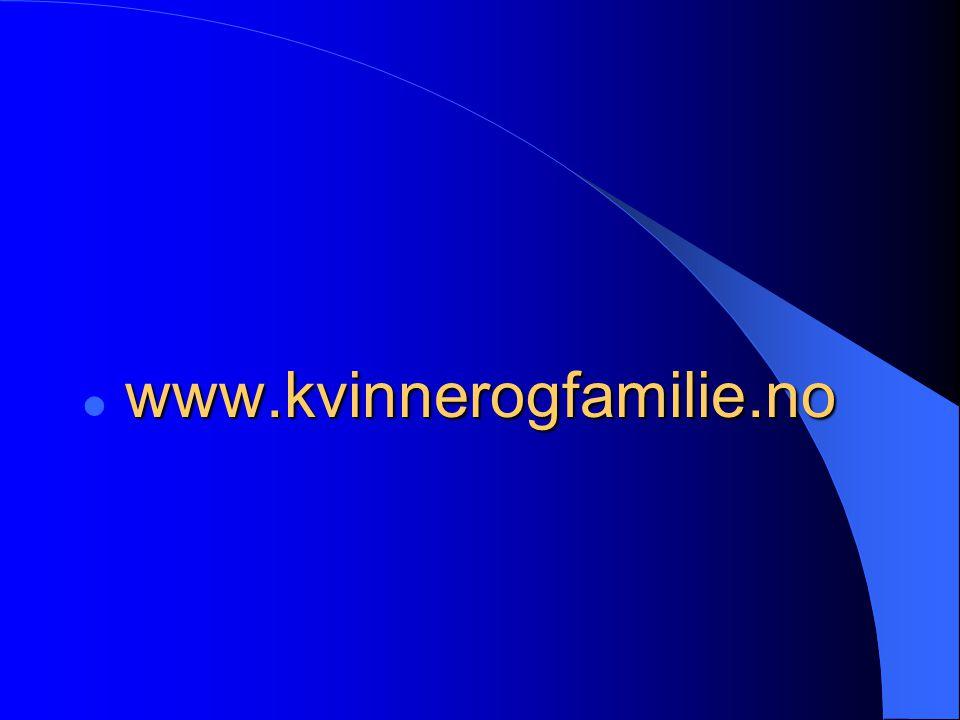 www.kvinnerogfamilie.no