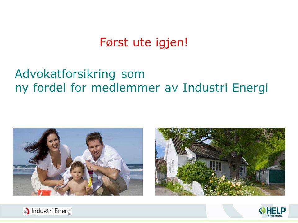 Advokatforsikring som ny fordel for medlemmer av Industri Energi