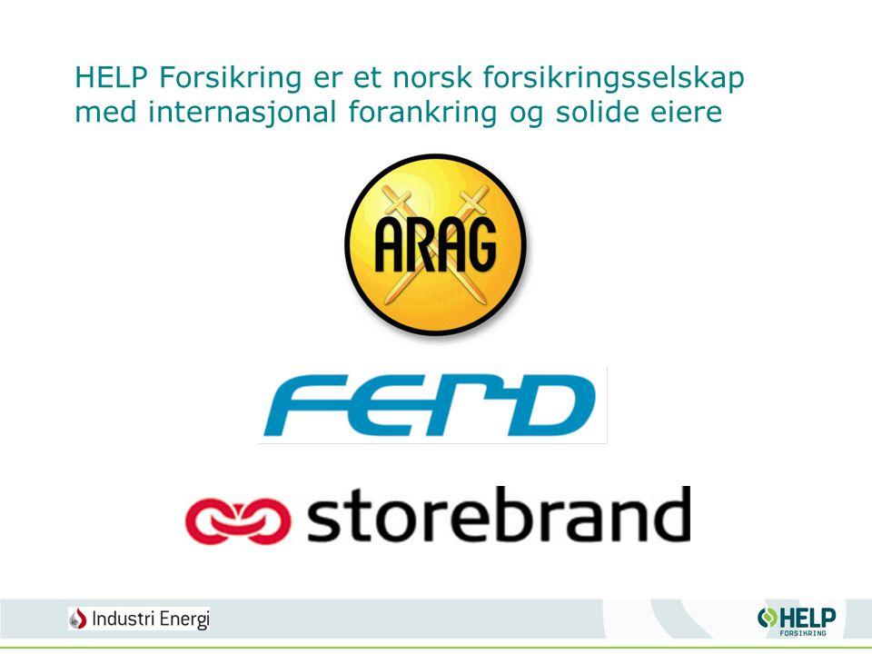 HELP Forsikring er et norsk forsikringsselskap med internasjonal forankring og solide eiere