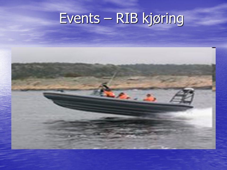 Events – RIB kjøring