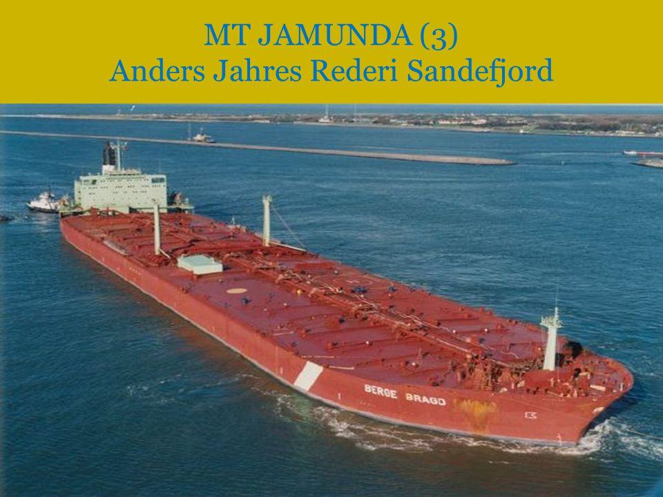 MT JAMUNDA (3) Anders Jahres Rederi Sandefjord