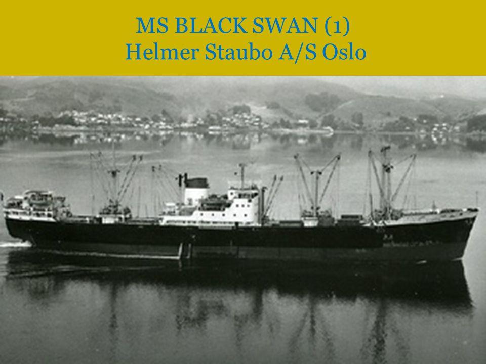 MS BLACK SWAN (1) Helmer Staubo A/S Oslo