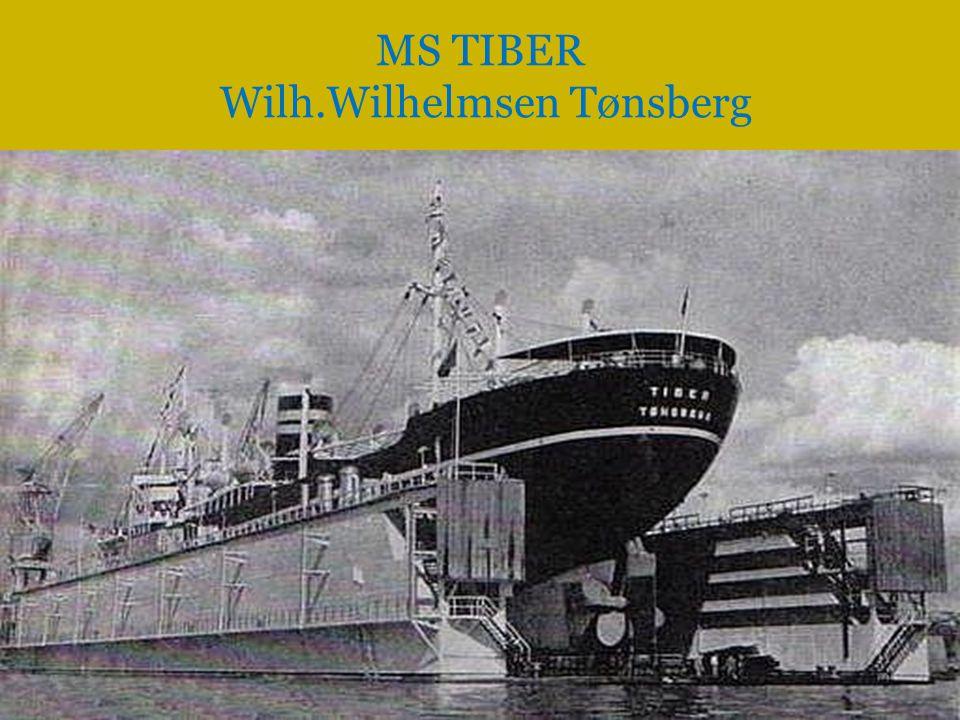 MS TIBER Wilh.Wilhelmsen Tønsberg