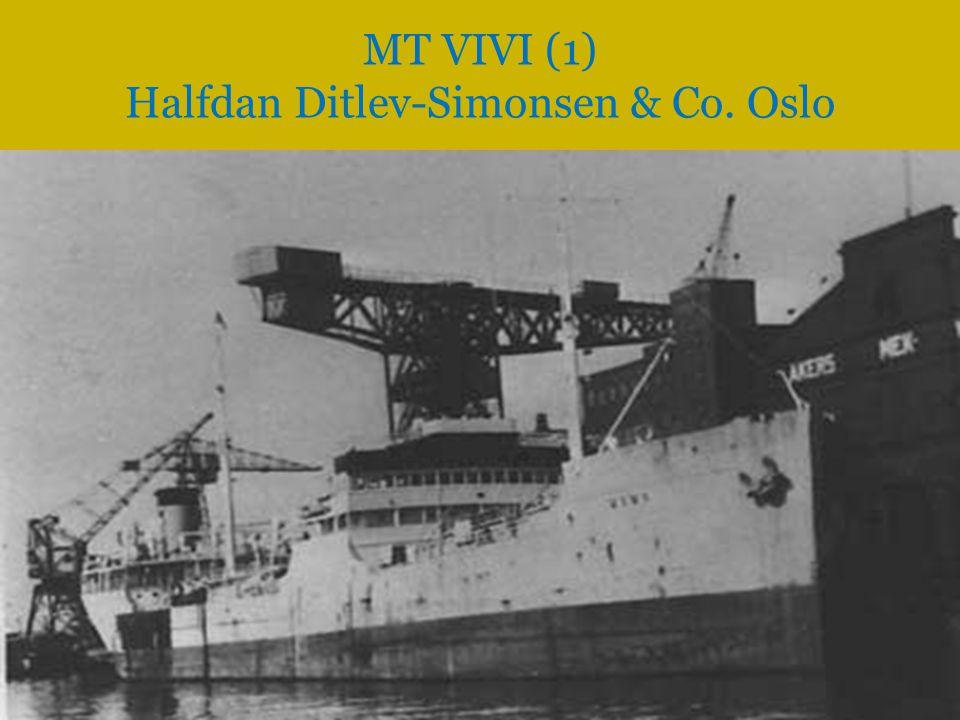 MT VIVI (1) Halfdan Ditlev-Simonsen & Co. Oslo