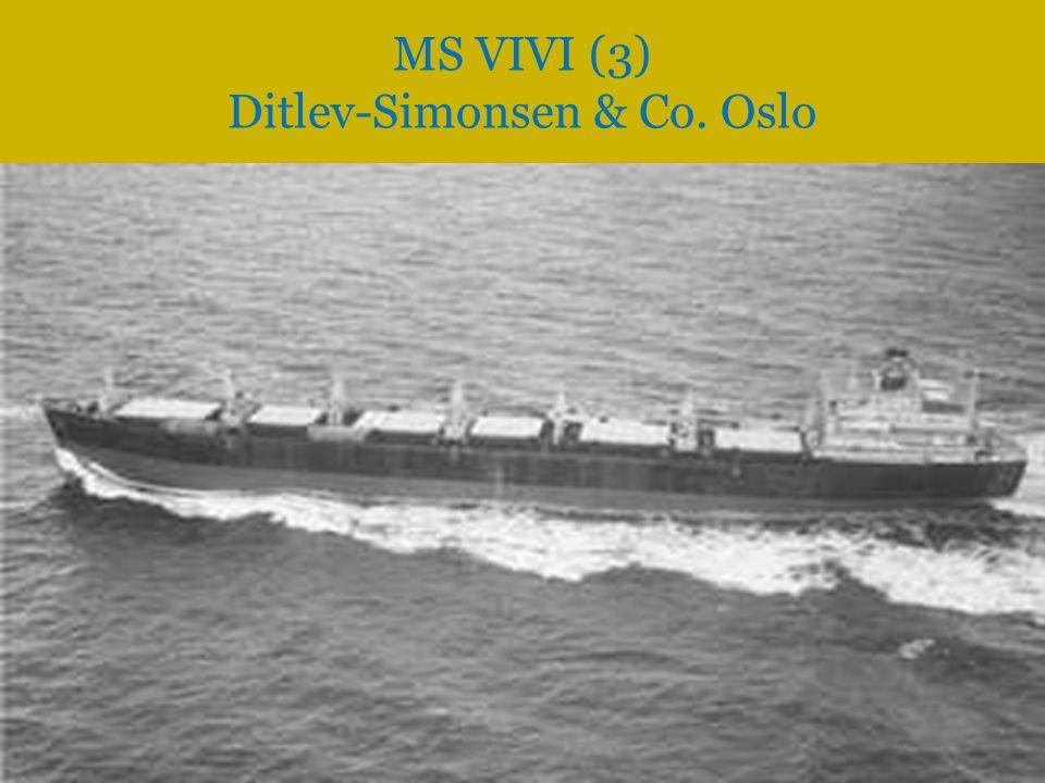 MS VIVI (3) Ditlev-Simonsen & Co. Oslo